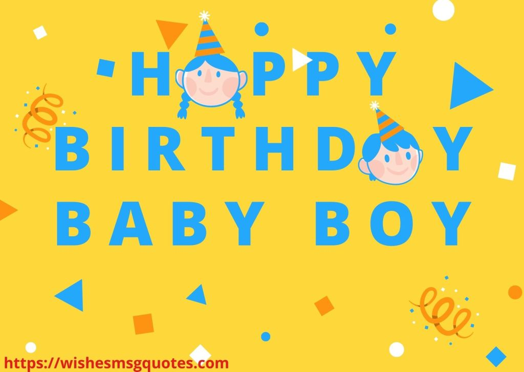 Birthday Wishes From Father To Baby Boy