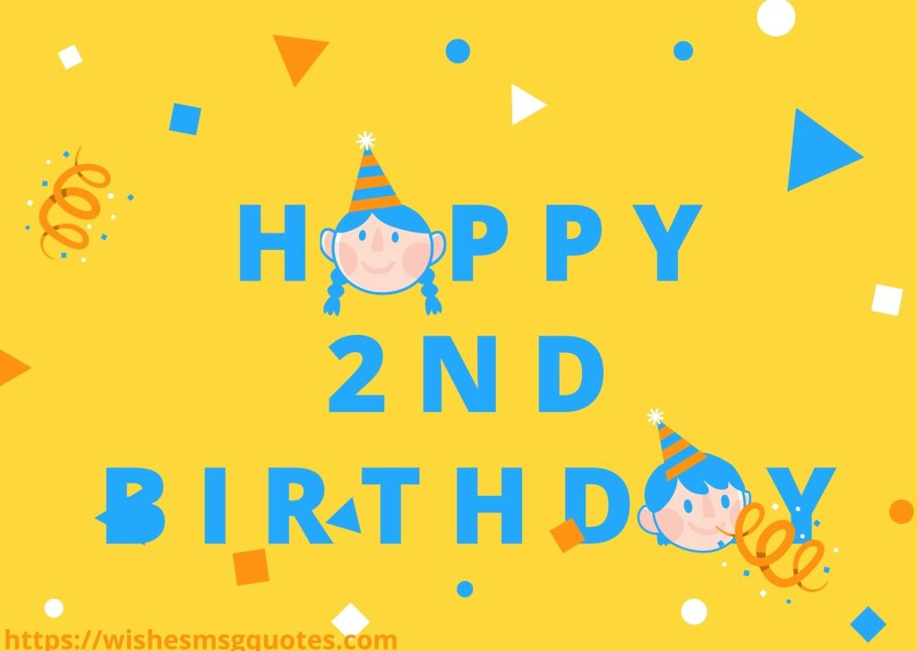 Happy 2nd Birthday Messages For Grandson
