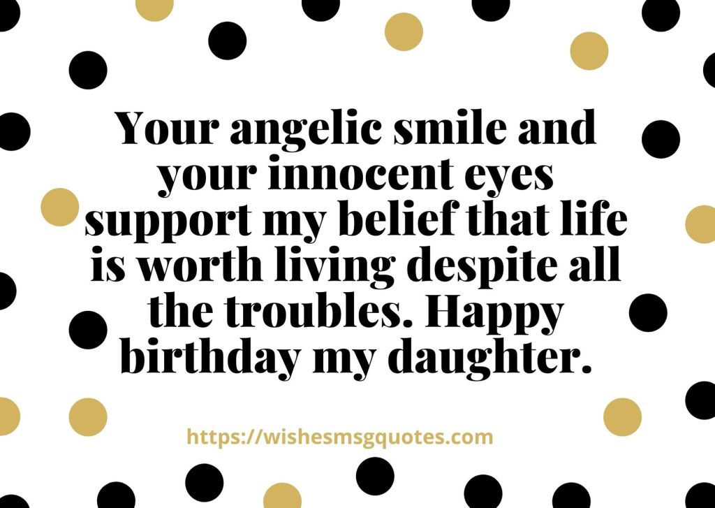 1st Birthday Quotes From Father To Baby Girl