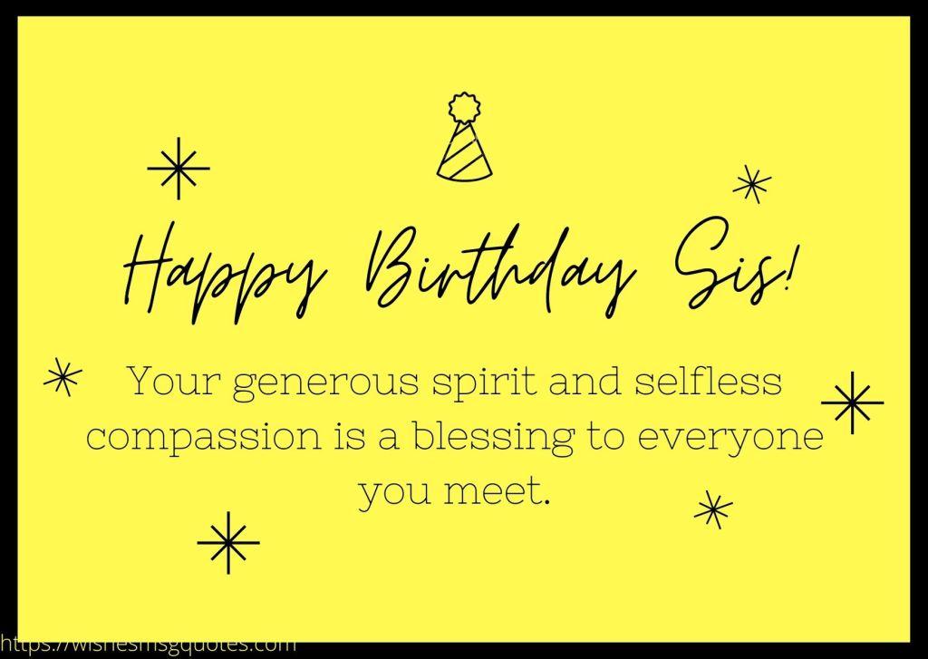 Birthday Messages For Elder Sister