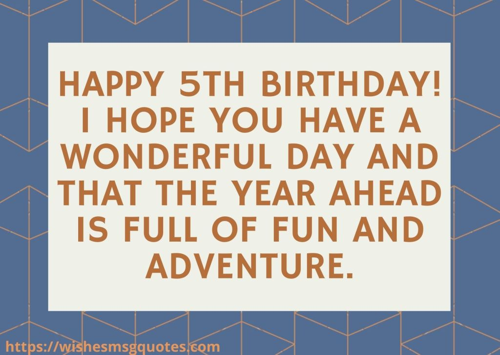 5th Birthday Quotes From Grandmother To Boy