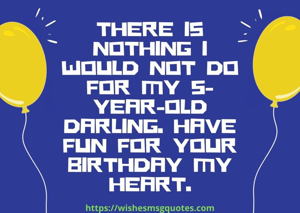 5th Birthday Messages From Father To Boy
