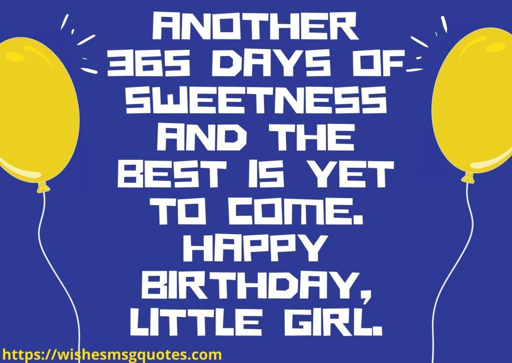 Birthday Wishes For Baby Girl 2nd Birthday