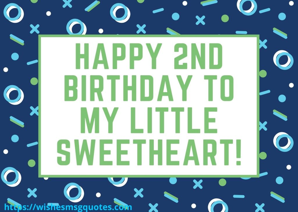 Happy 2nd Birthday Wishes From Parents