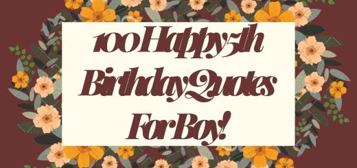 100 Happy 5th Birthday Quotes For Boy