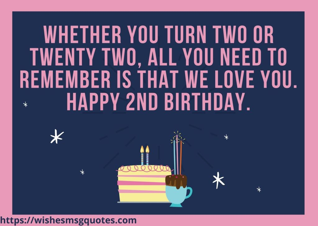 2nd Birthday Quotes From Mother To Baby Boy