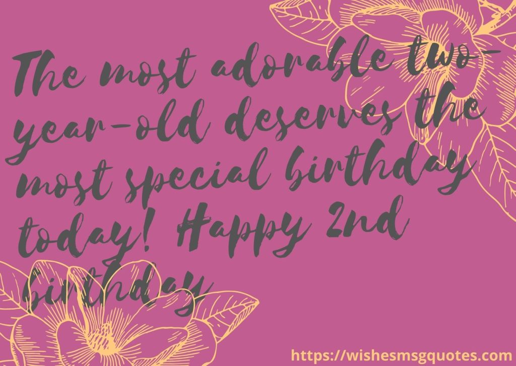 2nd Birthday Quotes From Uncle To Baby Boy