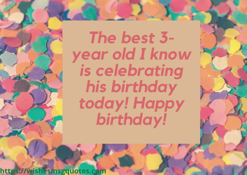 3rd Birthday Quotes From Father To Baby Boy
