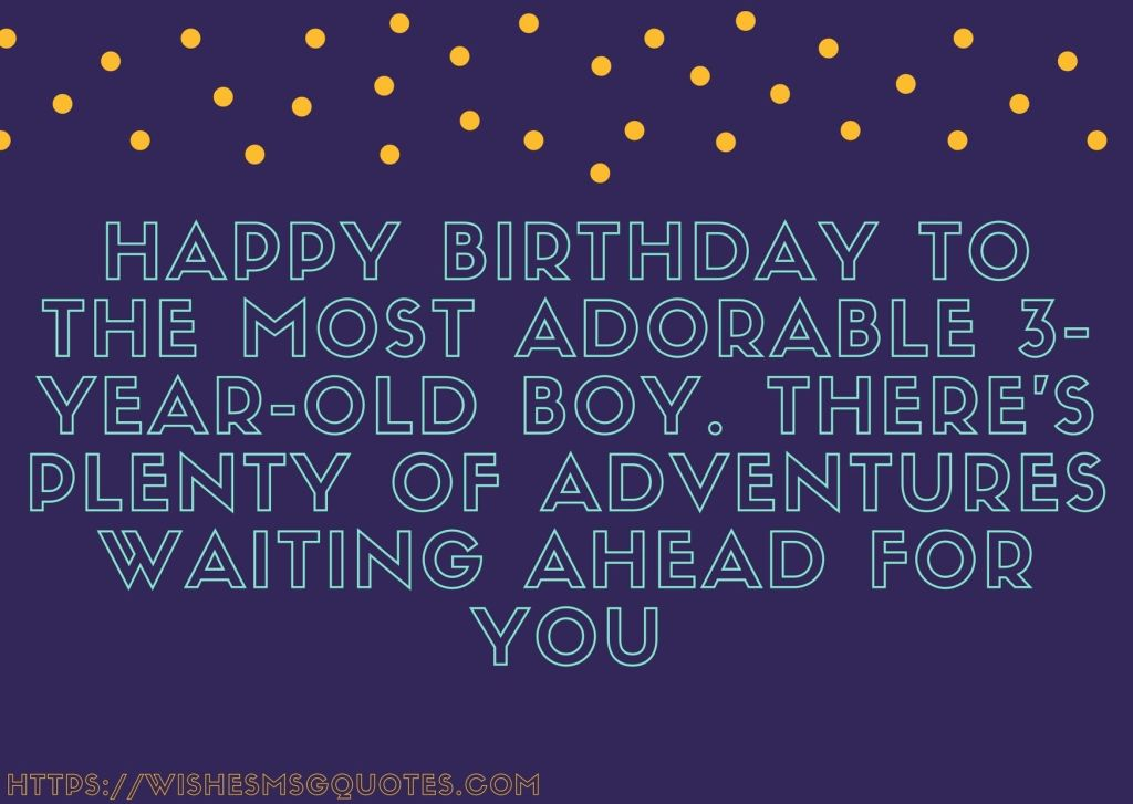 3rd Birthday Quotes From Grandmother To Baby Boy