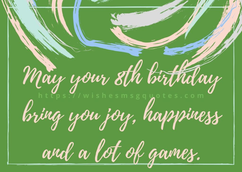 8th Birthday Quotes From Grandfather To Girl