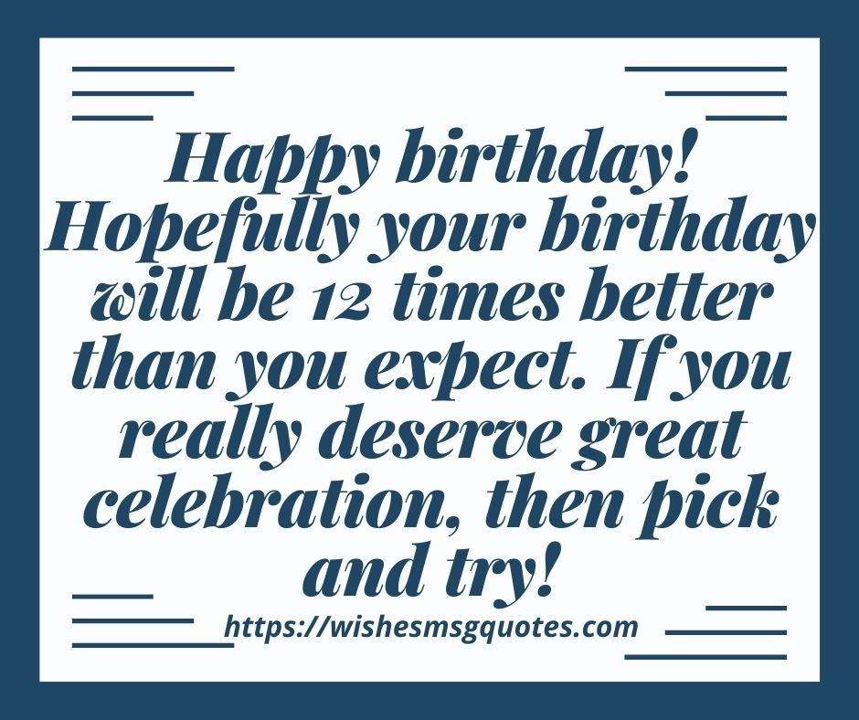 Birthday Messages For Boy And Girl 12th Birthday