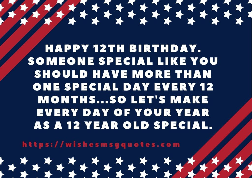 Cutest 12th Birthday Messages For Boy Or Girl From Father