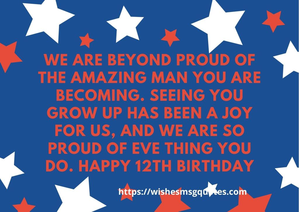 Happy 12th Birthday Quotes For Girl