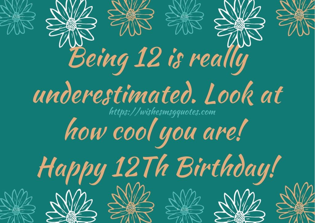 12th Birthday Messages From Grandfather To Boy Or Girl