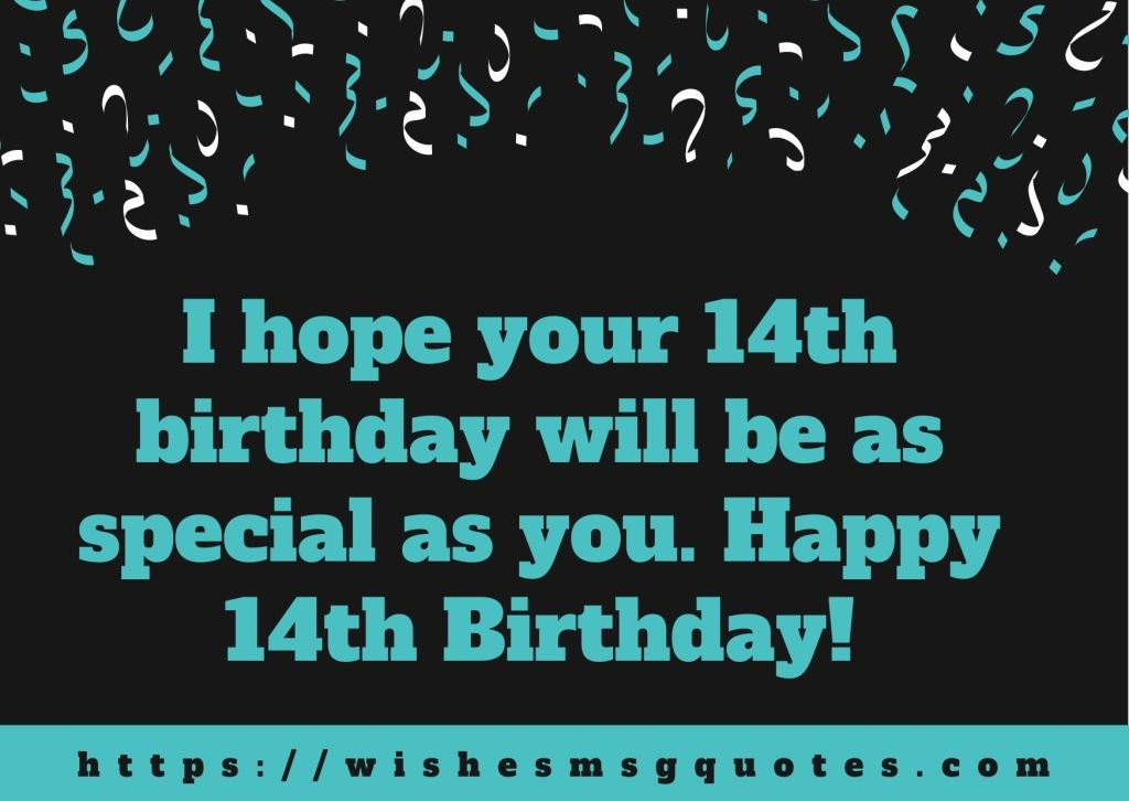 14th Birthday Quotes From Aunt To Boy Or Girl