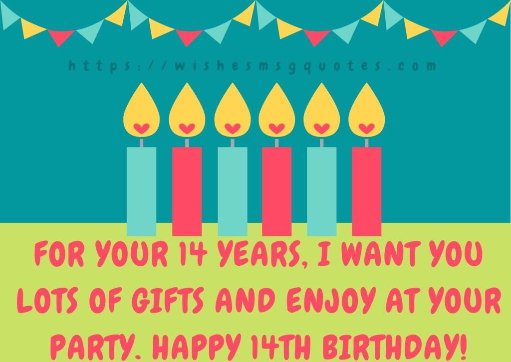 Cutest 14th Birthday Messages For Boy Or Girl From Father