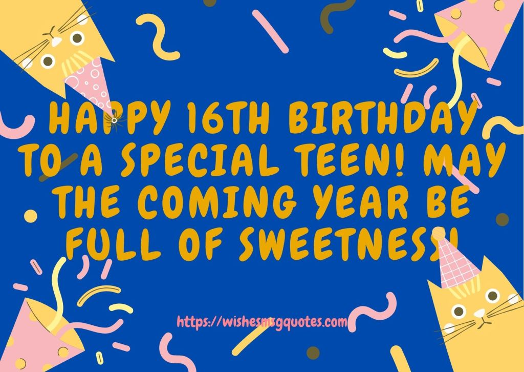 16th Birthday Quotes From Aunt To Boy Or Girl