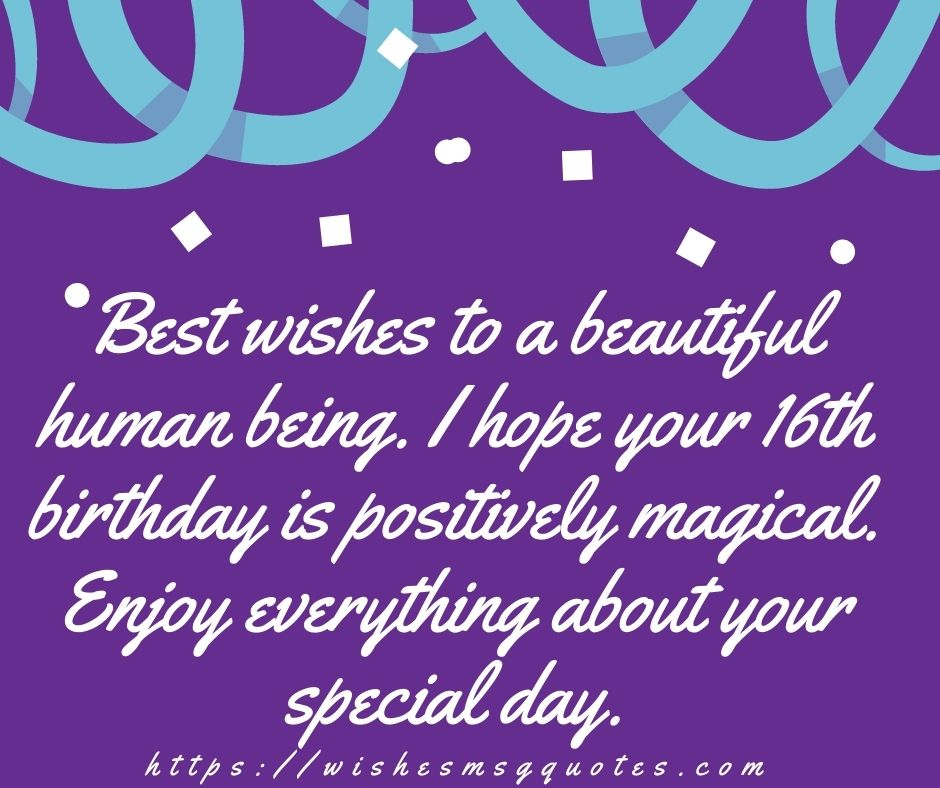16th Birthday Quotes From Grandmother To Boy Or Girl