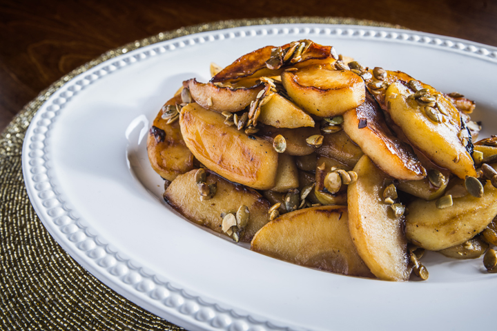 Brown Butter Roasted Apples {Wishes & Dishes}