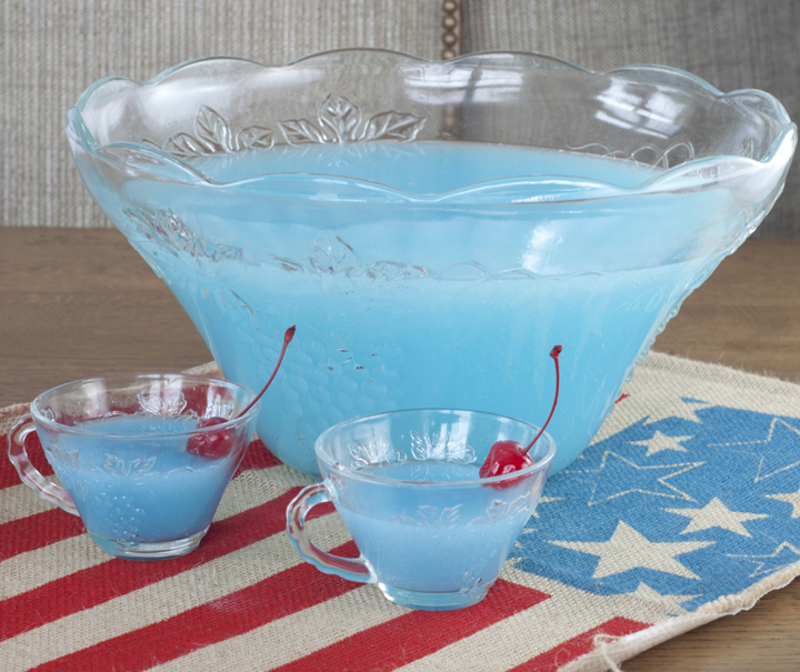Blue Pina Colada Punch {Wishes and Dishes}