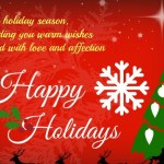 Amazing Happy Holiday Wishes And Greetings 2017