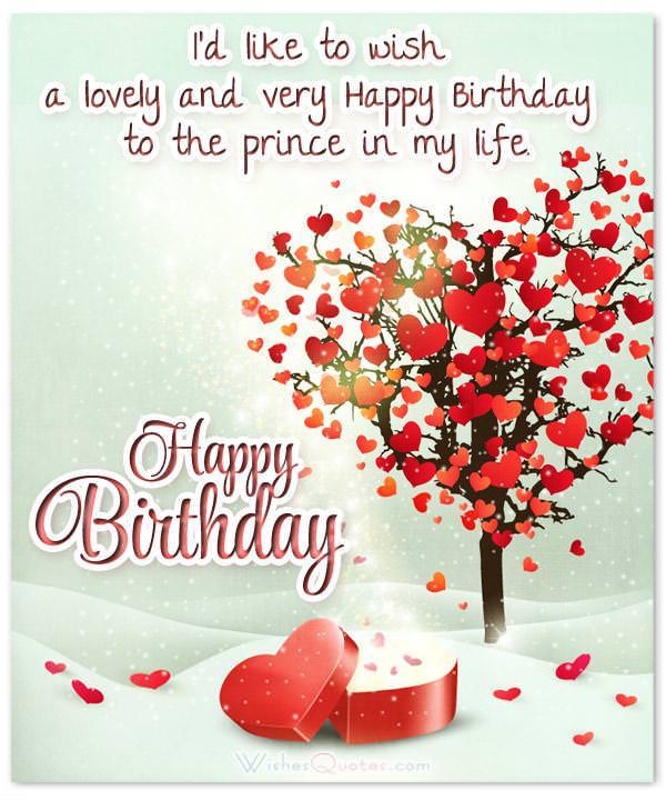 Sweet Birthday Message For Boyfriend : sweet, birthday, message, boyfriend, Birthday, Wishes, Boyfriend, WishesQuotes