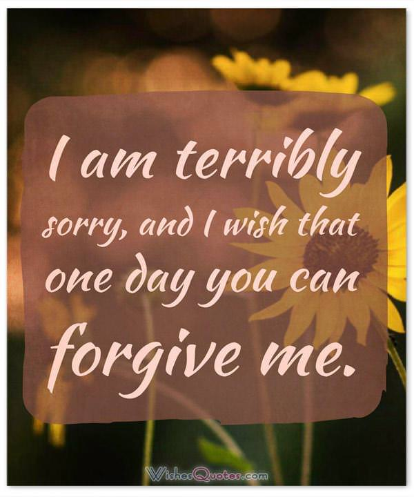 Im Sorry Quotes For Wife : sorry, quotes, You're, Sorry,, Sweet, Apology, Messages