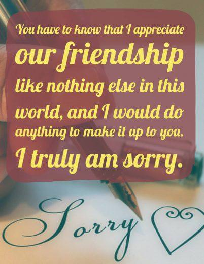 Im Sorry Best Friend : sorry, friend, Forgive, Sample, Apology, Letters, Friend