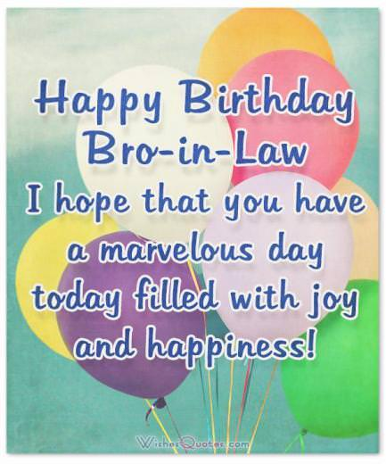 Happy Birthday Brother Pic : happy, birthday, brother, Amazing, Birthday, Wishes, Cards, Brother-In-Law