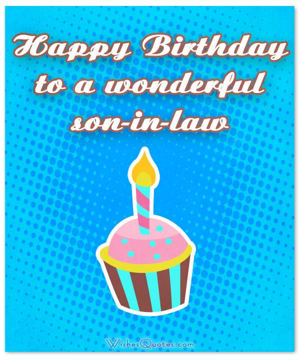 Happy Birthday Son In Law Images : happy, birthday, images, Son-In-Law, Birthday, Wishes,, Messages,, Cards, WishesQuotes