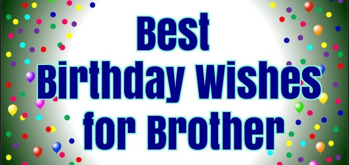 Best 20 Happy Birthday wishes for Brother in Law