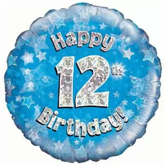 Happy Birthday Wishes for 12-year-old Boy and Girl