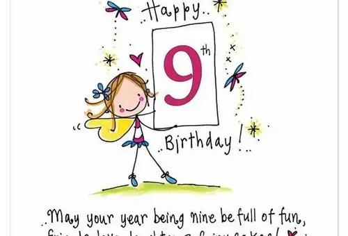 happy 9th birthday princess