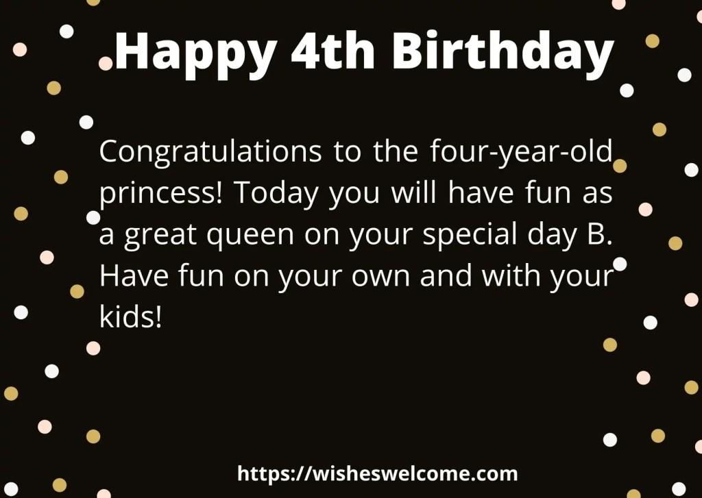 4rht birthday message