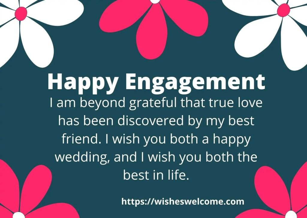 happy engagement dear