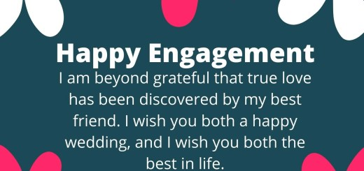 happy engagement dear