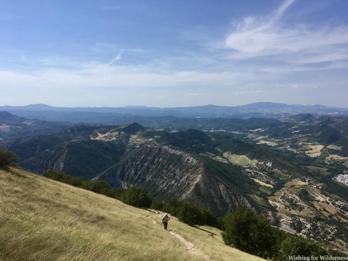 View from Monte Nerone