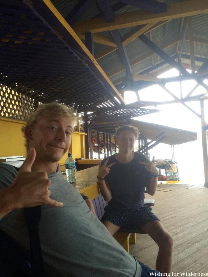 Two people in Bocas del Toro