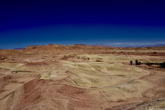 Rocky desert in Morocco