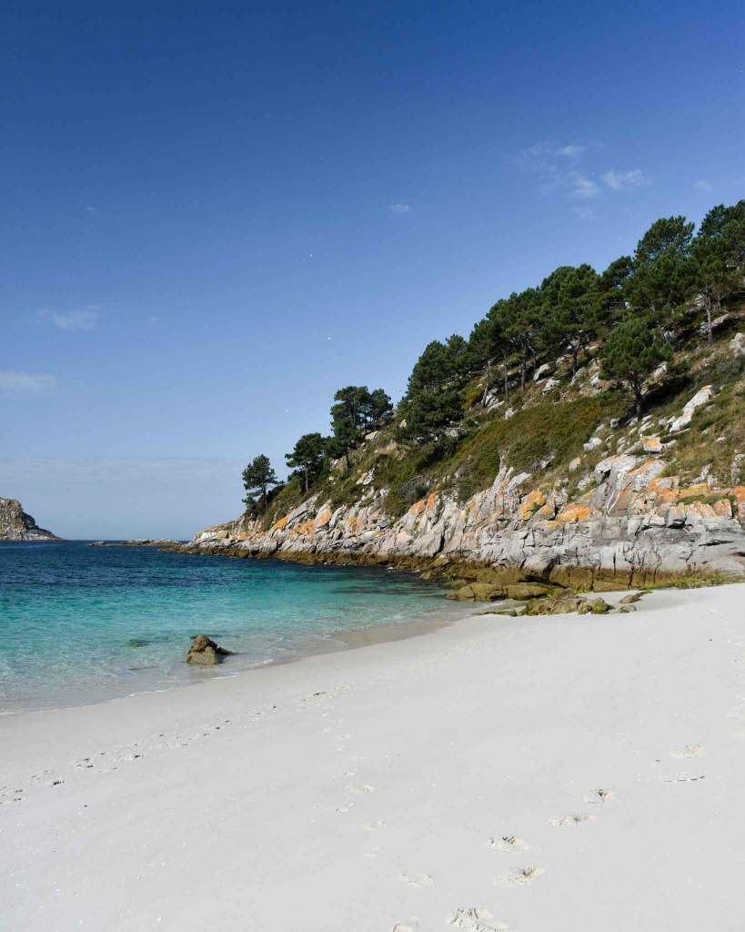 Nosa Senora Beach Cies Islands