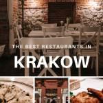 Best restaurants in Krakow