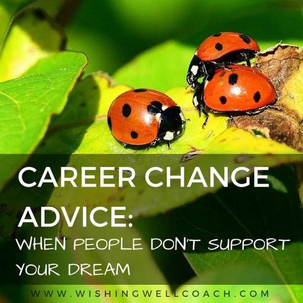 CAREER CHANGE ADVICE