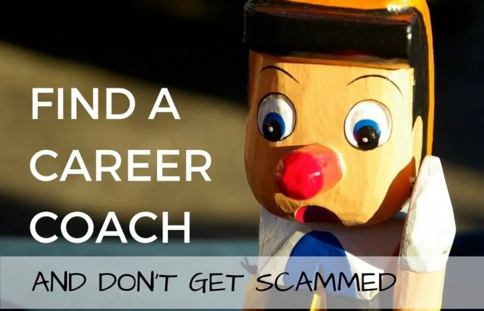 Find A Career Coach And Don't Get Scammed