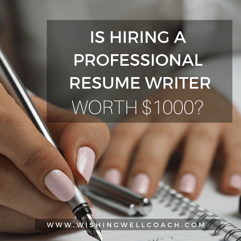 is hiring a resume writer worth it
