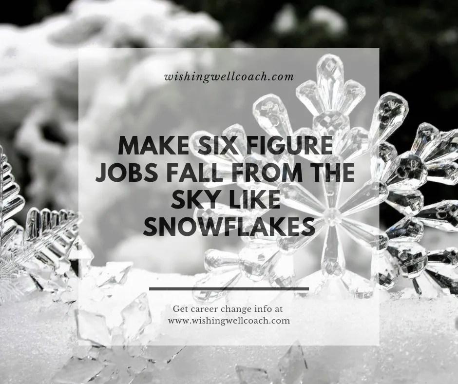 Six figure jobs