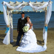 Northern Michigan Beach Wedding
