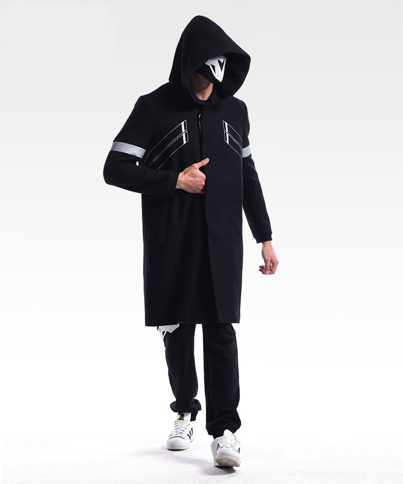 Limited Edition Overwatch Reaper Long Coat Wool Blizzard