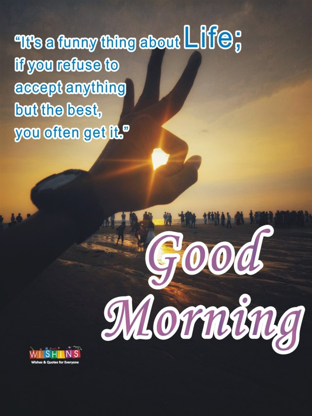 good morning images with life quotes