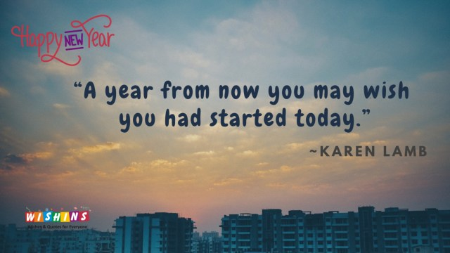 New year quotes father