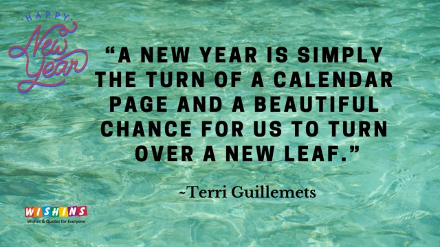 New year quotes for him
